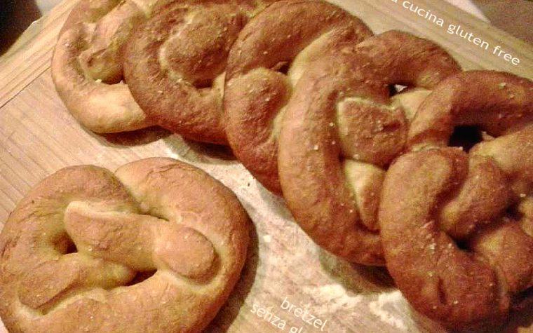 I bretzel senza glutine con lievito madre