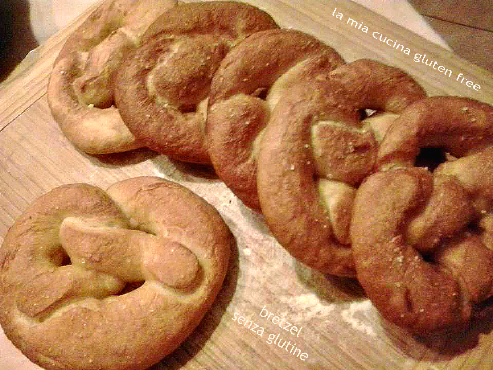 bretzel senza glutine