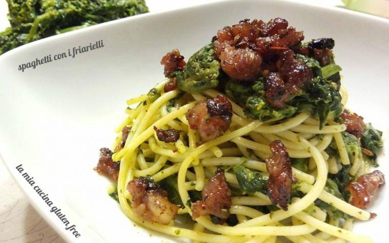 Spaghetti friarielli e salsiccia