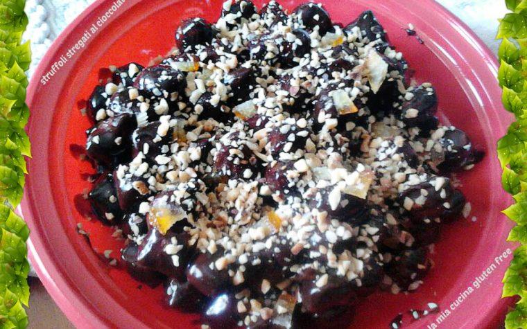 Struffoli stregati al cioccolato
