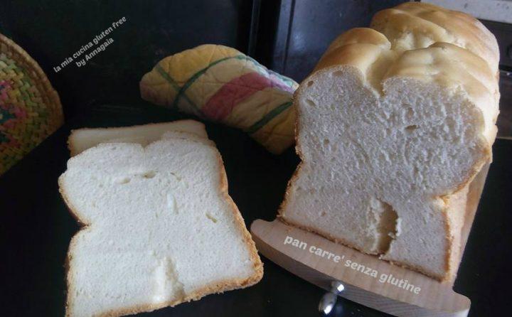 pan carré senza glutine