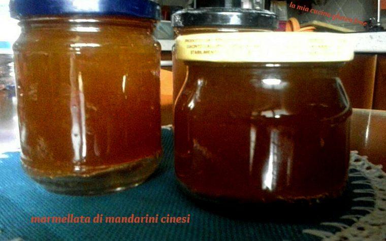 Marmellata di mandarini cinesi o kumquat
