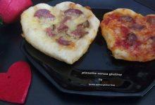 Pizzette senza glutine a cuore