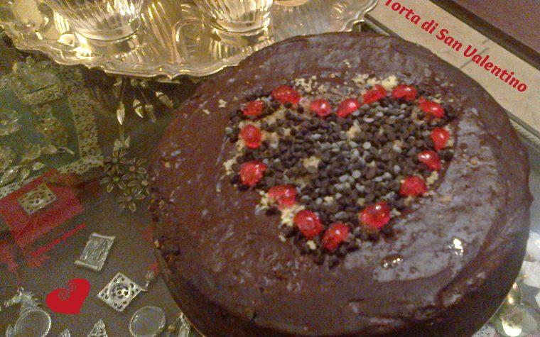 Torta senza glutine di San Valentino