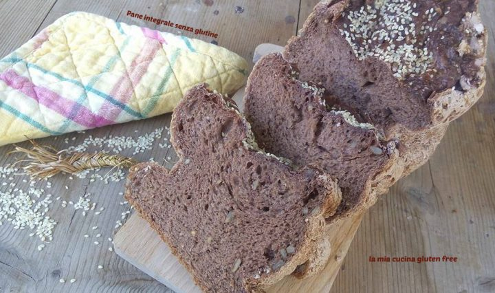 pane integrale senza glutine con semi