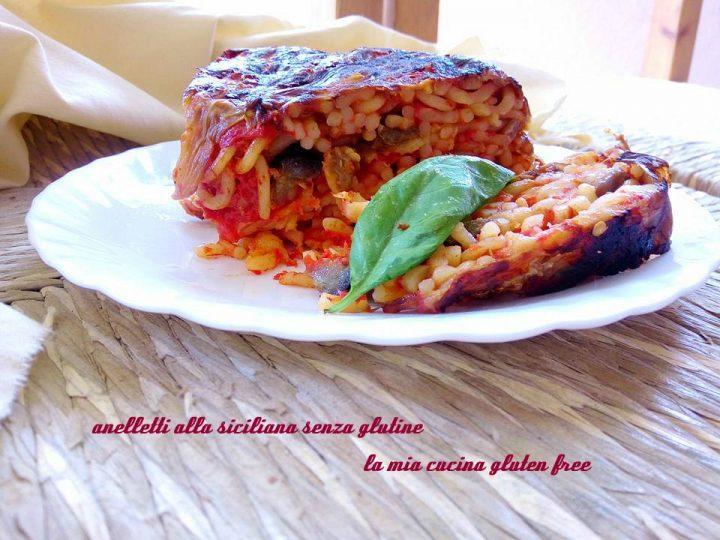 anelletti alla siciliana senza glutine