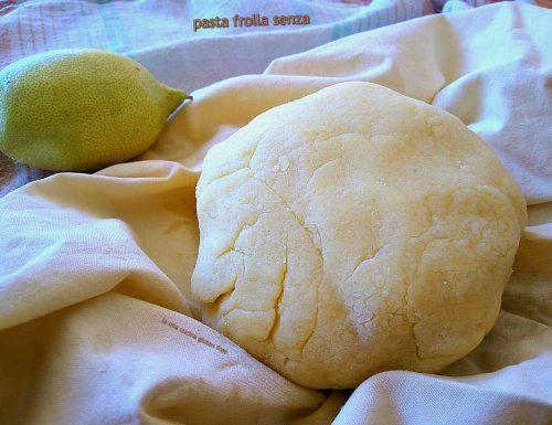 Pasta frolla senza burro senza glutine