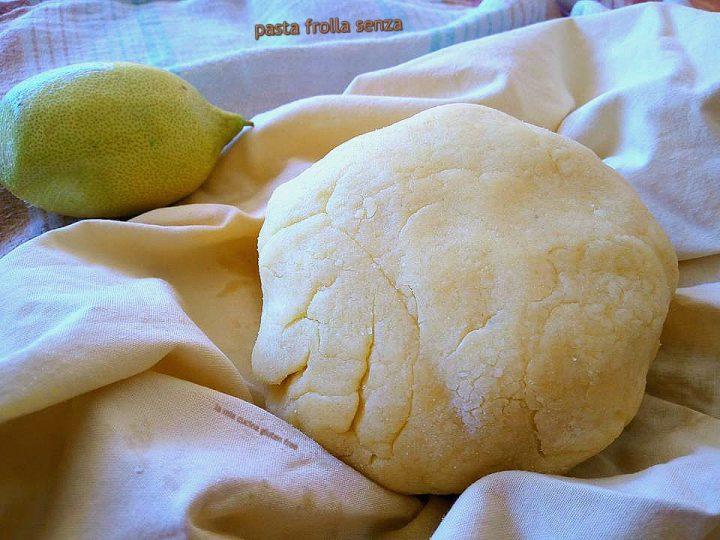 pasta frolla senza burro senza glutine all'olio di oliva