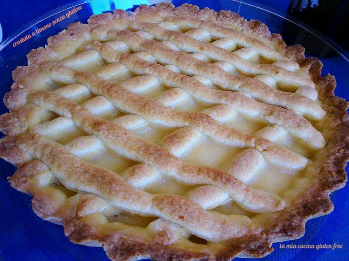 crostata a limone senza glutine