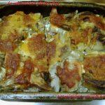 Parmigiana carciofi e patate