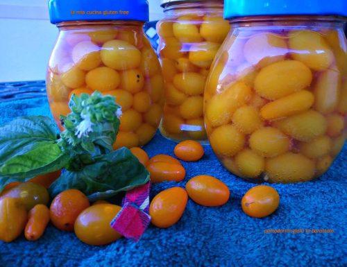 Pomodorini gialli in barattolo