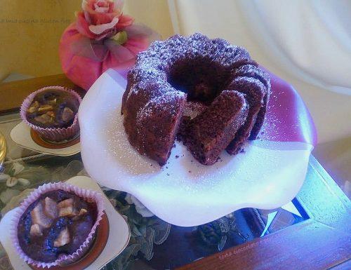 Torta cioccolato e pere senza glutine