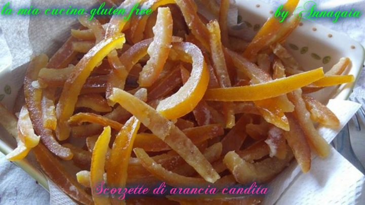 arancia candita senza glutine