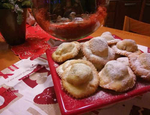 Calzoncelli castagne e cioccolato