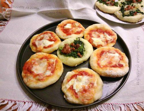 Pizzette da buffet senza glutine
