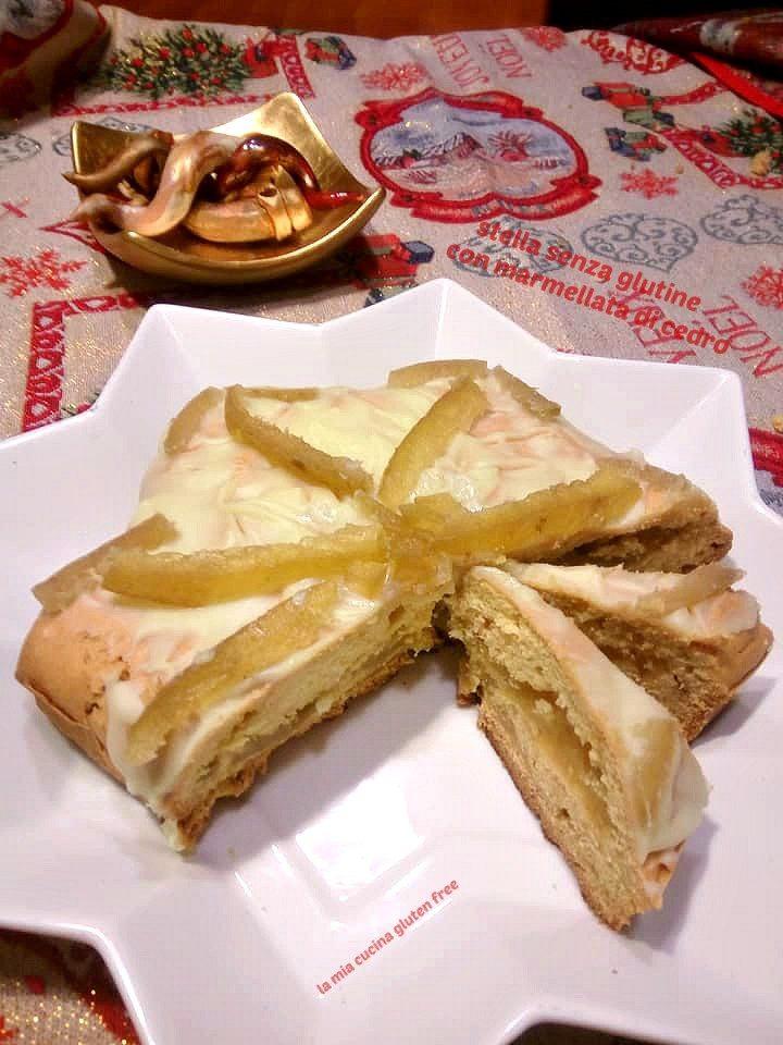 stella senza glutine con marmellata