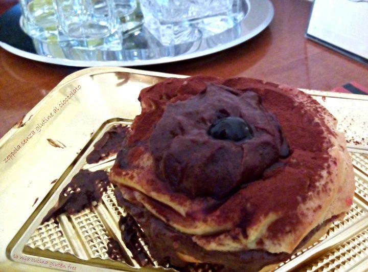 zeppole di pasta choux al cioccolato senza glutine