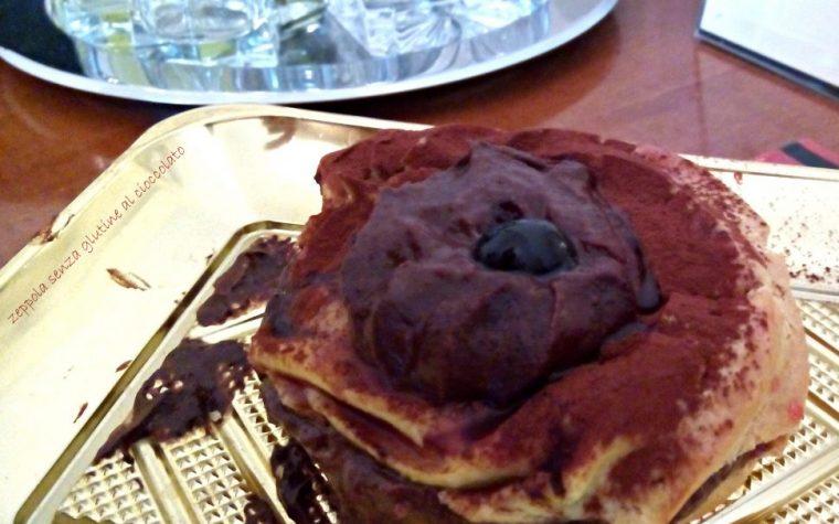 Zeppole di pasta choux al cioccolato