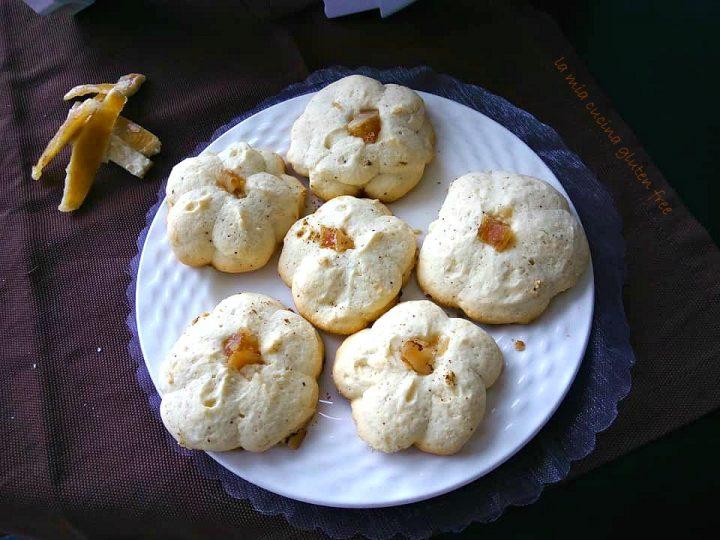 biscotti di frolla montata senza glutine