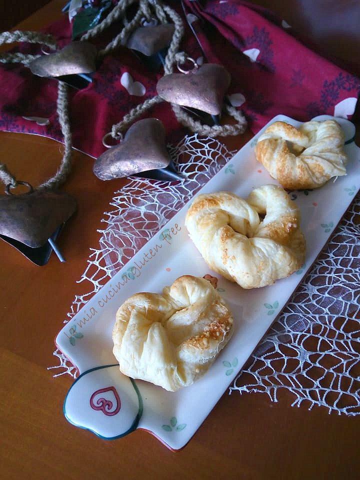 cuoricini di sfoglia senza glutine