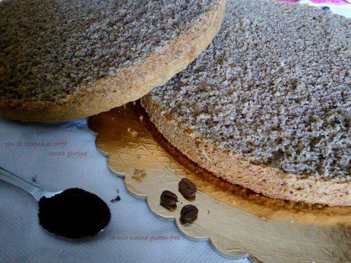 Pan di spagna al caffè senza glutine