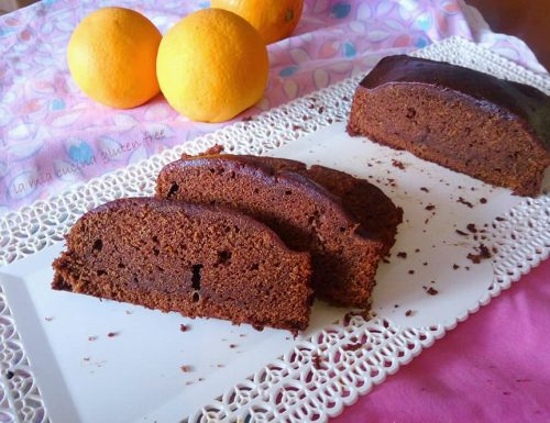Plumcake cacao e arancia