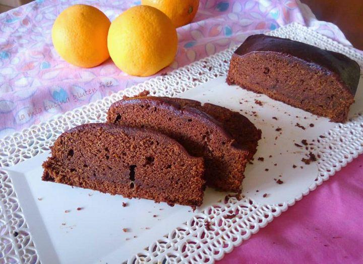 plumcake cacao e arancia senza glutine