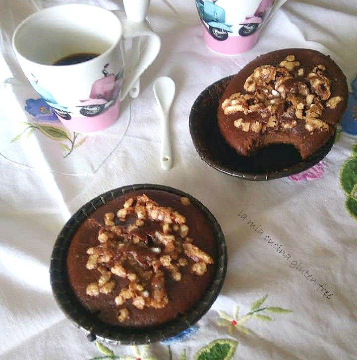 tortine cacao e arancia senza glutine