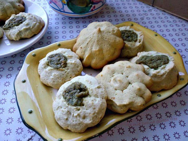 biscotti di frolla montata al pistacchio senza glutine
