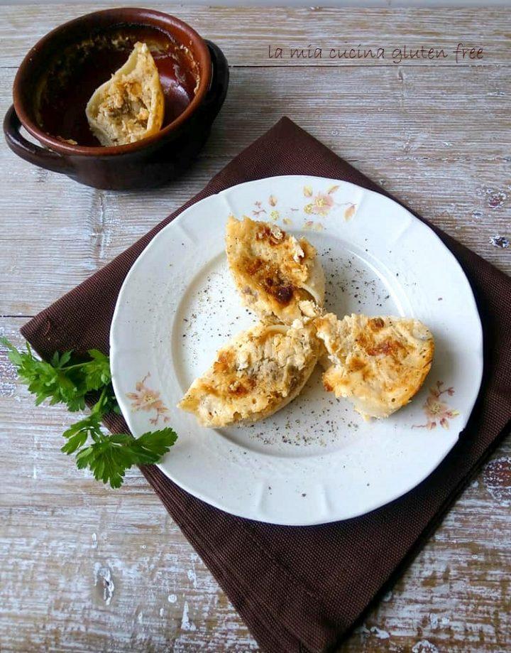 conchiglioni ripieni di patate e porcini senza glutine