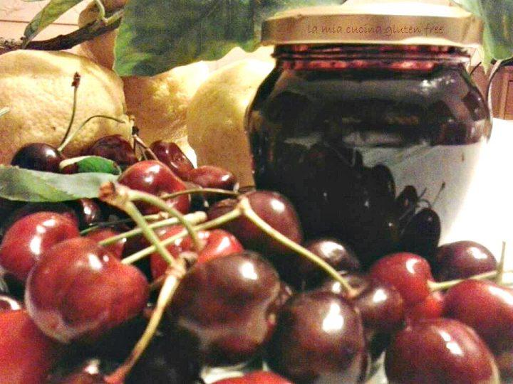marmellata di ciliegie con Bimby