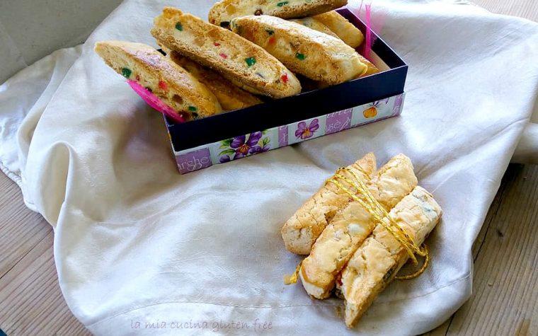 Biscotti con canditi senza glutine