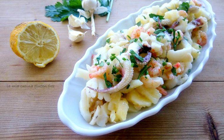 Seppia e patate all'insalata