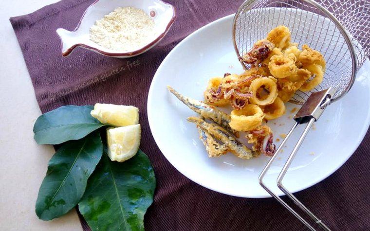 Frittura di pesce con farina di ceci