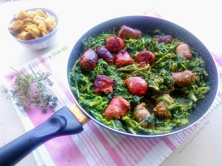 broccoli e salsiccia 'e friariell