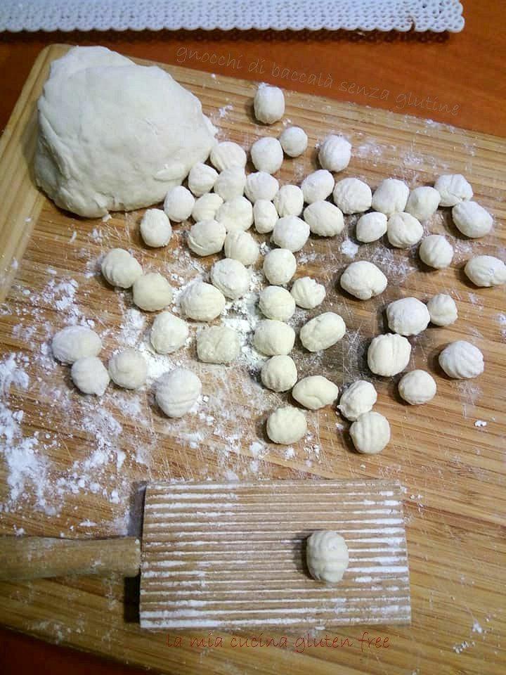 chicche gnocchi con baccalà senza glutine