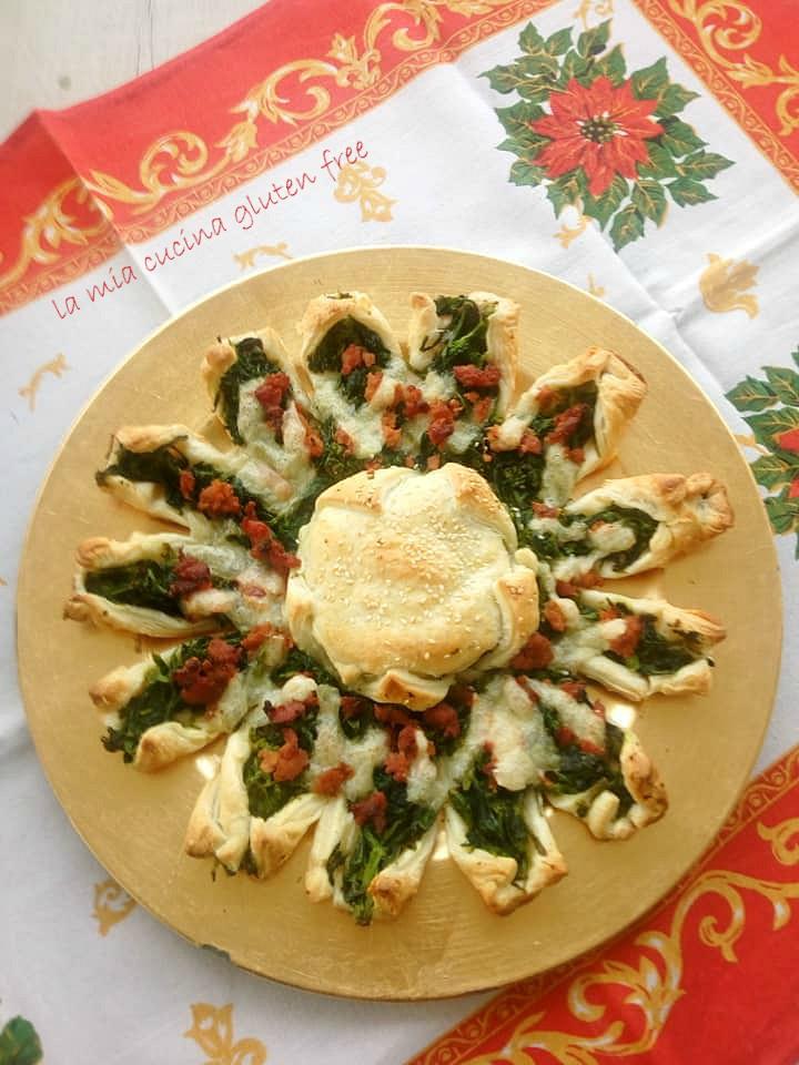 Torta Salata Stella Di Natale.Stella Di Natale Di Pasta Sfoglia