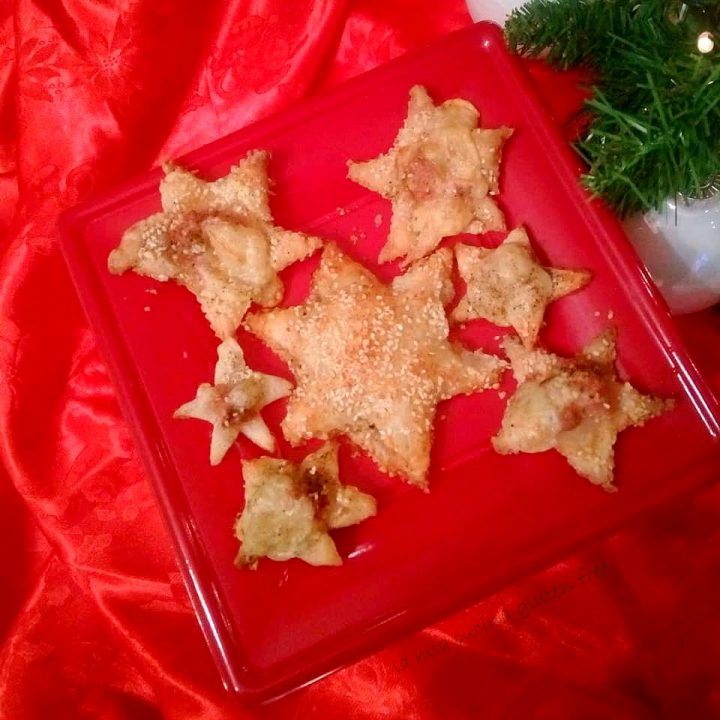 stelle di sfoglia senza glutine