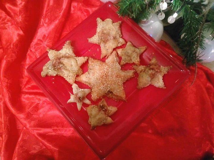 stelle di sfoglia senza glutine ripiene