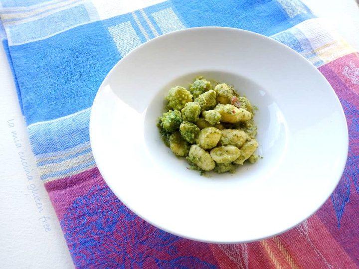 gnocchi con broccoli romani senza glutine wow