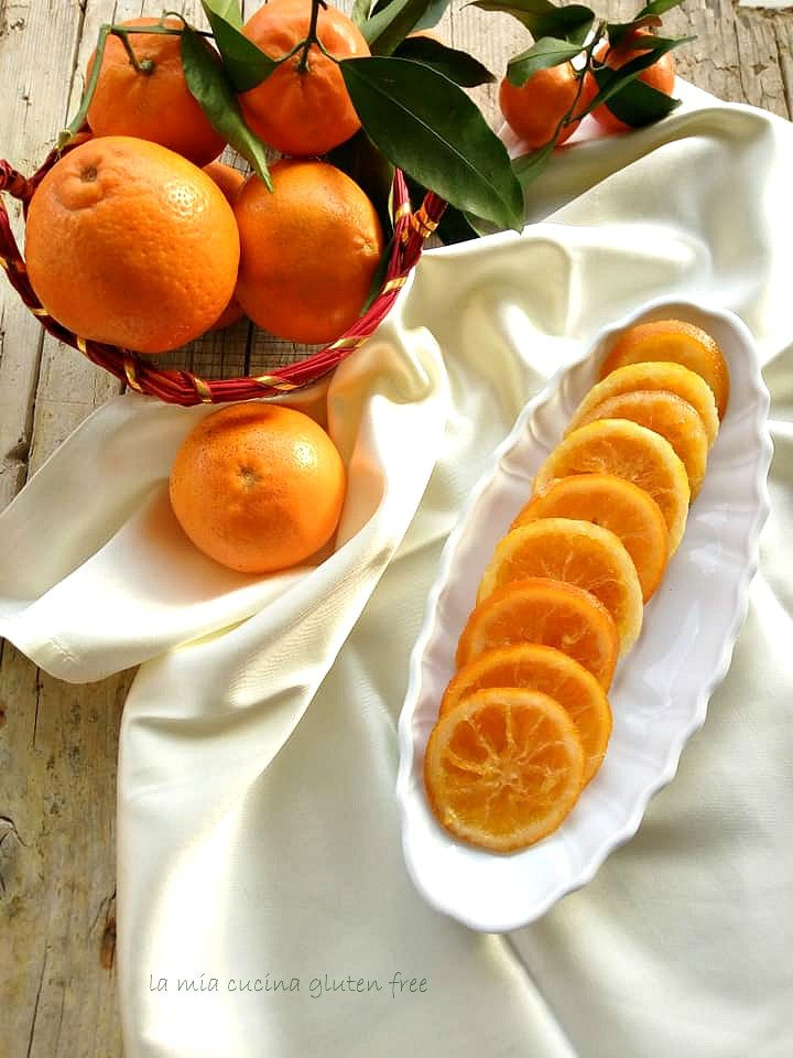 arancia candita a fette