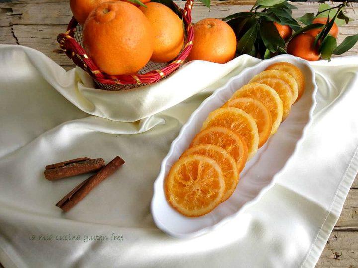 arancia candita a fette senza glutine