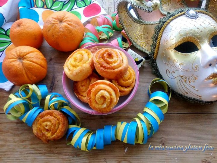 arancini di carnevale senza glutine