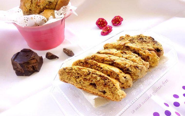 Biscotti con cioccolato senza glutine