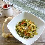 Tagliolini con crema di asparagi