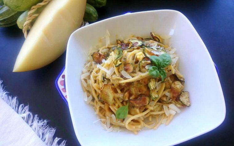 Spaghetti alla Nerano senza glutine