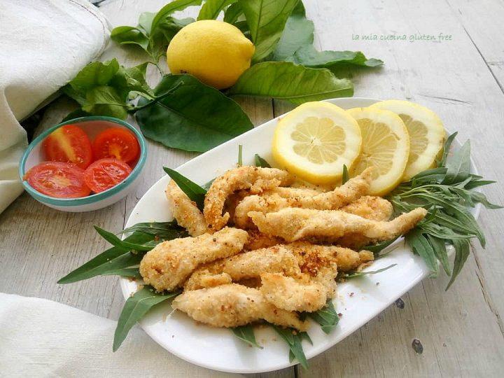 straccetti di pollo al limone senza glutine
