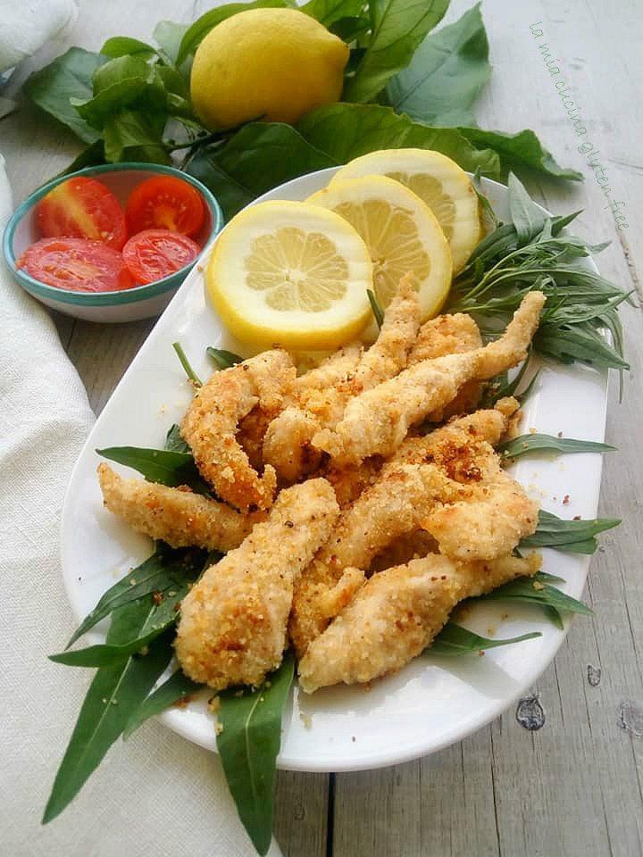 straccetti di pollo al limone insabbiati senza glutine