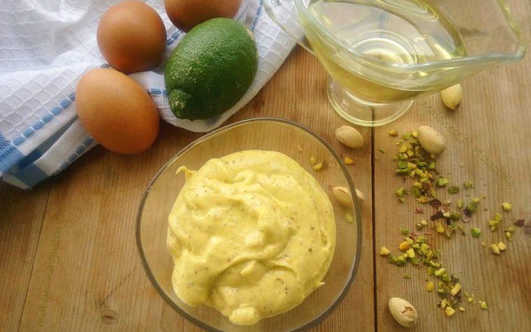 Maionese al pistacchio senza glutine