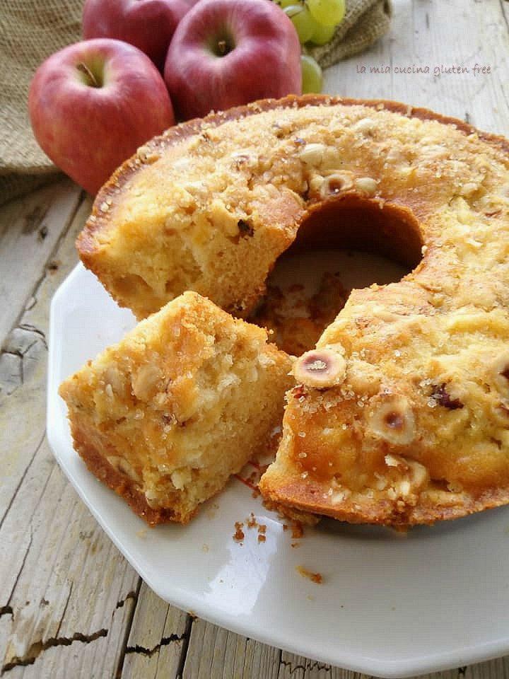ciambella con mele e mosto senza glutine